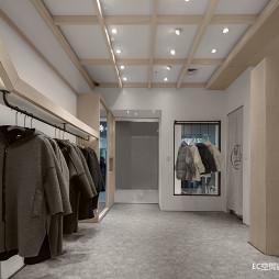 初•白 服装店铺实景图片
