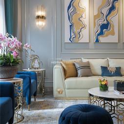 轻奢欧式客厅壁灯图片