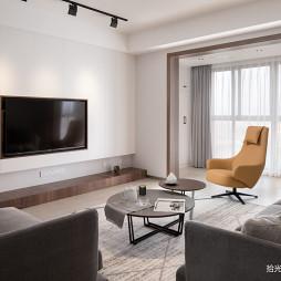 「留白」现代客厅设计图片