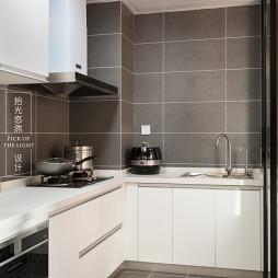「留白」现代厨房设计