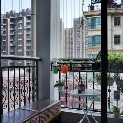 平和现代风阳台设计