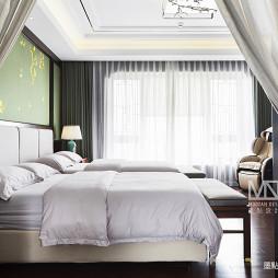 锦绣中式卧室实景