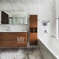 锦绣中式浴室实景图片