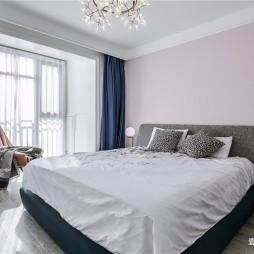 个性现代主卧室实景图片