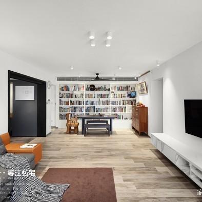 雅舍现代客厅设计实景图