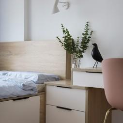 小复式北欧风卧室小壁灯设计