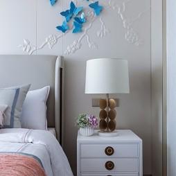雅奢东方中式卧室床头柜设计图