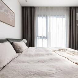 140㎡优雅中式卧室图片