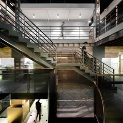 琥珀大楼楼梯设计图片