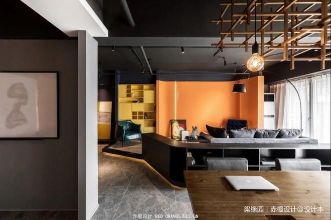 赤橙办公空间实景图片