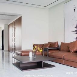 现代别墅客厅沙发图