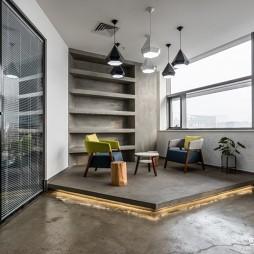 创意办公空间音乐主题会议室设计