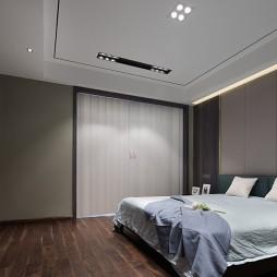 简单中式四居卧室设计