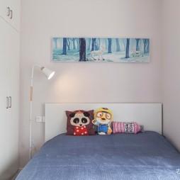 简约清新北欧儿童房设计
