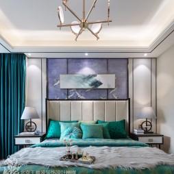 简约新中式卧室设计图片