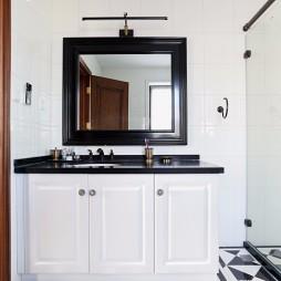 温情美式风洗手台设计