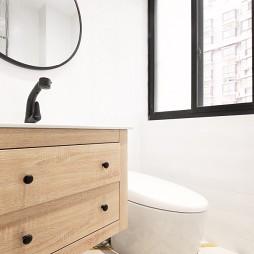55㎡小户型卫浴设计图