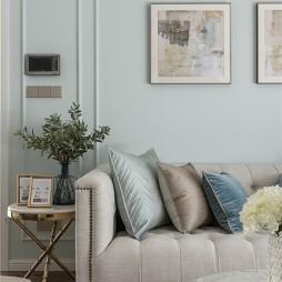 美式客厅装饰画图片