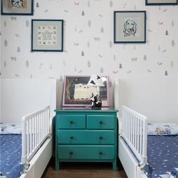 清新美式儿童房设计