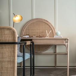 浪漫东方售楼处女儿房书桌设计
