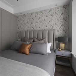 温和混搭风卧室吊灯图片