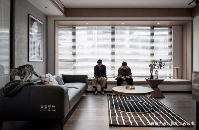 现代两居室客厅茶几图片