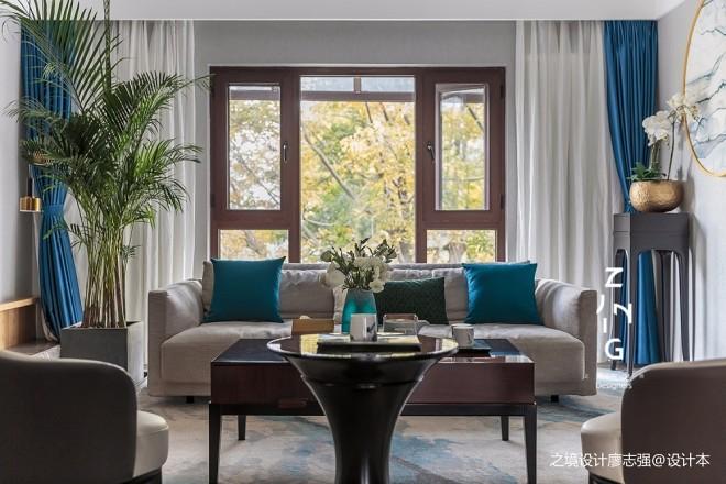 现代复式改造客厅实景图片