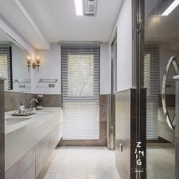 现代复式改造卫浴设计