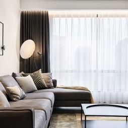 极简风客厅沙发图