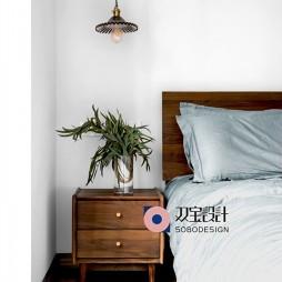 自然混搭风卧室吊灯图