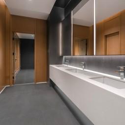 北京望京万科时代中心洗手台设计