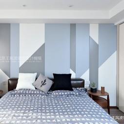 现代风格三居卧室衣柜设计