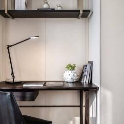 轻奢新中式次卧书桌设计