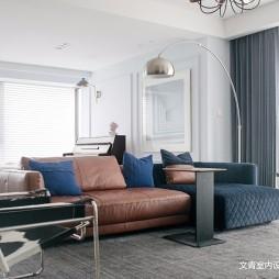 现代复古客厅沙发设计