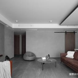 简单现代风客厅茶几图片