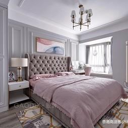 简单整洁美式主卧室设计图