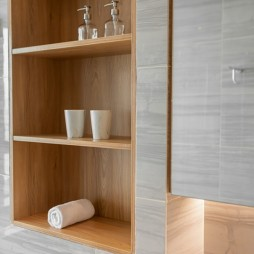 現代簡約衛生間鏡柜設計