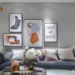 现代简约沙发背景图设计图