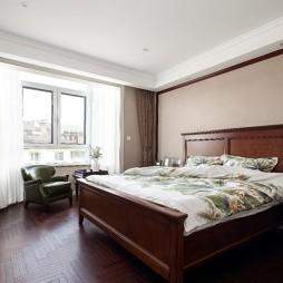 中式主卧室设计图