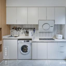 现代简约风小公寓橱柜设计