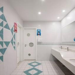 台州市中心幼儿园洗手台设计