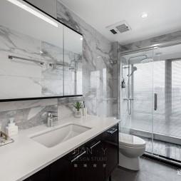欧式豪华风洗手间设计图