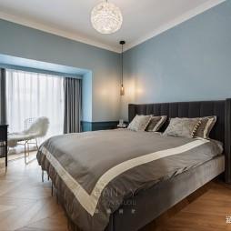欧式豪华风卧室实景图片