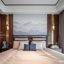 中式现代主卧室设计