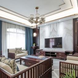中式现代客厅图