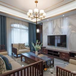 中式现代客厅图片