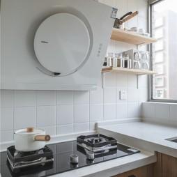 90㎡北欧极简风厨房设计