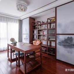 新中式书房实景图片