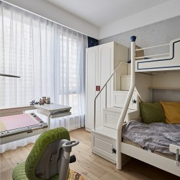 现代简约儿童房设计图片