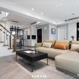 现代简约客厅沙发图